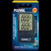 Teplomer FLUVAL digitální, bezdrátový 2v1