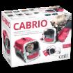 Prepravka CATIT Design Cabrio tmave cervená