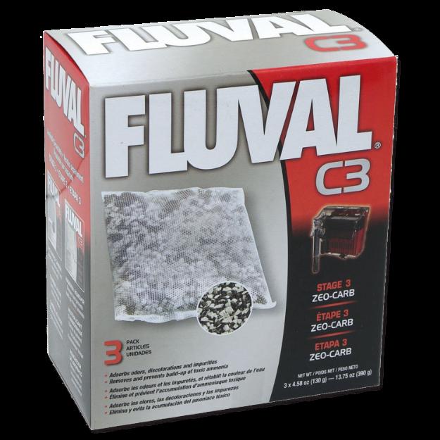 Obrázek Náplň sáčky Zeo-Carb FLUVAL C3 3ks