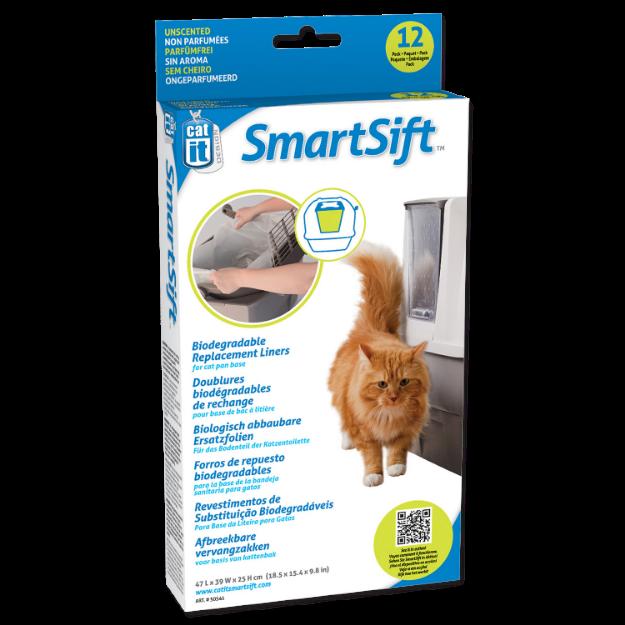Obrázek Náhradní sáčky do toalet CATIT Design SmartSift - vrchní část 12ks