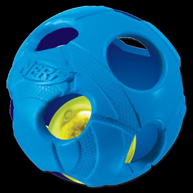 Obrázek Hračka NERF gumový míček LED 6 cm