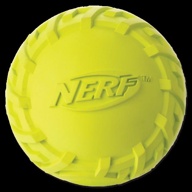 Obrázek Hračka NERF gumový míč pískací 7 cm